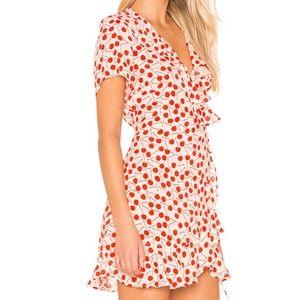 Beach Riot Summer Dress in Cherry